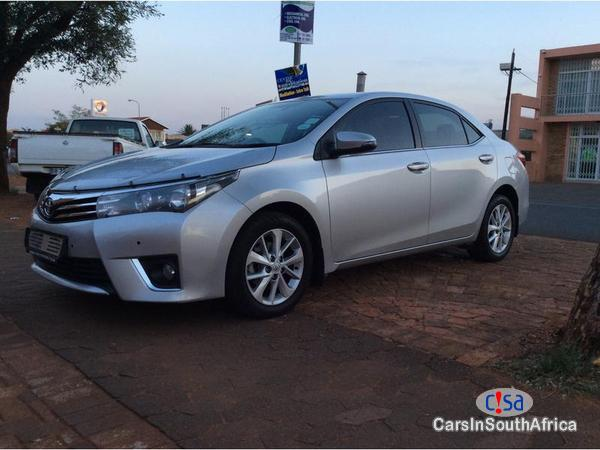Picture of Toyota Corolla Manual 2014