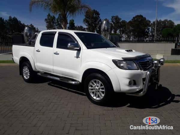 Picture of Toyota Hilux Manual 2013