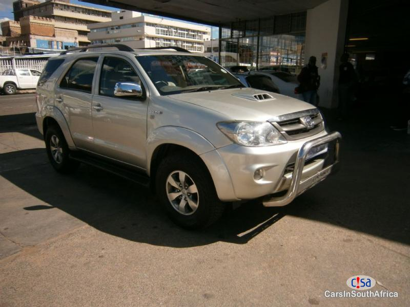 Picture of Toyota Fortuner Manual 2015