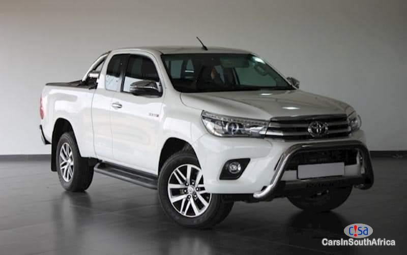 Picture of Toyota Hilux Manual 2018