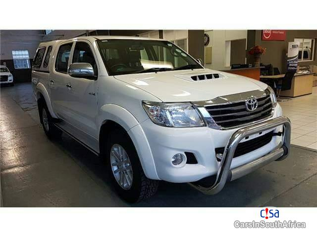 Picture of Toyota Hilux Manual 2016