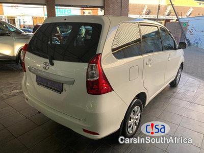 Toyota Avanza 1.5sx Manual 2017 in South Africa