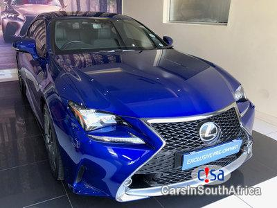Picture of Lexus 2.0 RC 350 F-sport V6 Automatic 2017