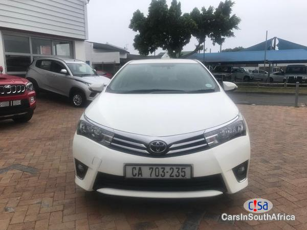 Picture of Toyota Corolla Manual 2016