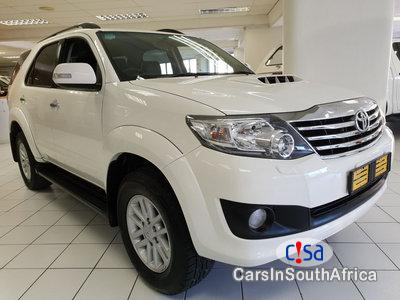 Toyota Fortuner 3.0D-4D Automatic 2014