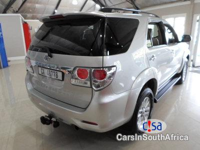 Toyota Fortuner 3.0 Manual 2012