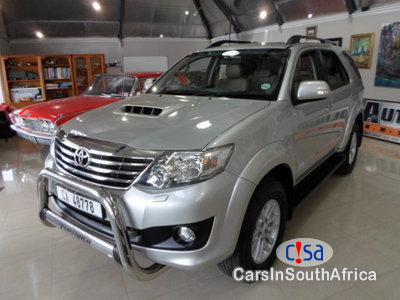 Toyota Fortuner 3.0 Manual 2012 in South Africa
