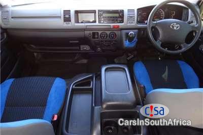 Toyota Quantum Manual 2013 in South Africa