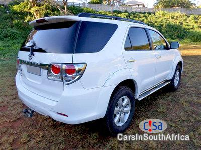Toyota Fortuner 3 0 Manual 2012
