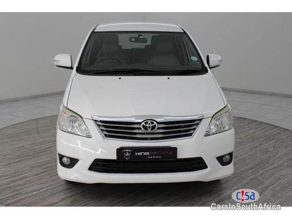 Toyota Innova Manual 2012