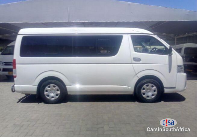 Toyota Quantum Manual 2012 in South Africa