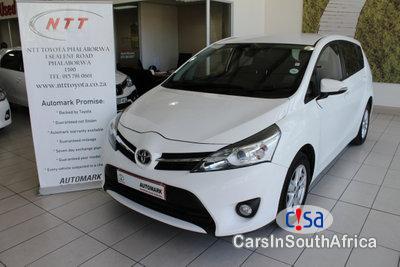 Toyota Verso 1.6 Manual 2014 in Gauteng
