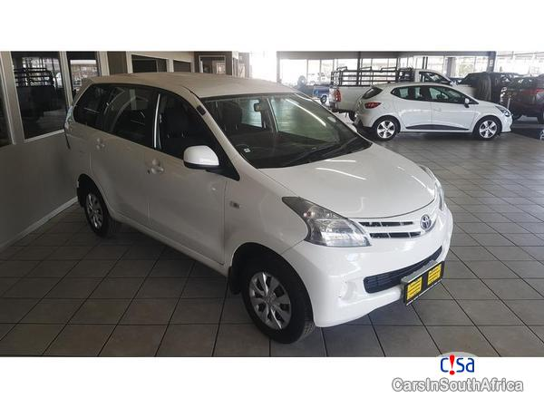 Toyota Avanza Manual 2015 in South Africa