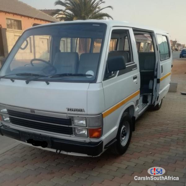Picture of Toyota HiAce 2.2 4y White Colouls 71000 Call 0732151880 Manual 2007