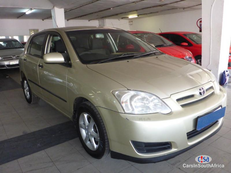 Picture of Toyota Runx Manual 2009