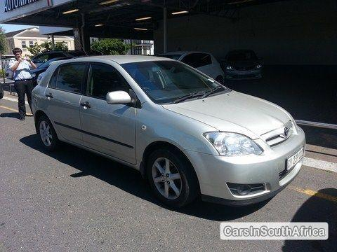 Picture of Toyota Runx Manual 2006
