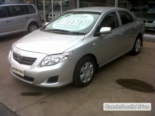 Picture of Toyota Corolla Manual 2010