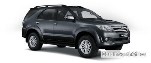 Picture of Toyota Fortuner Manual 2014