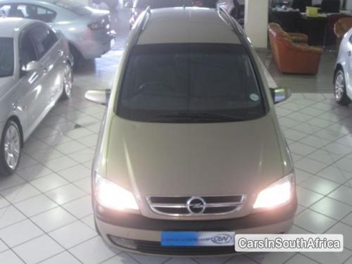 Pictures of Opel Zafira Automatic 2004