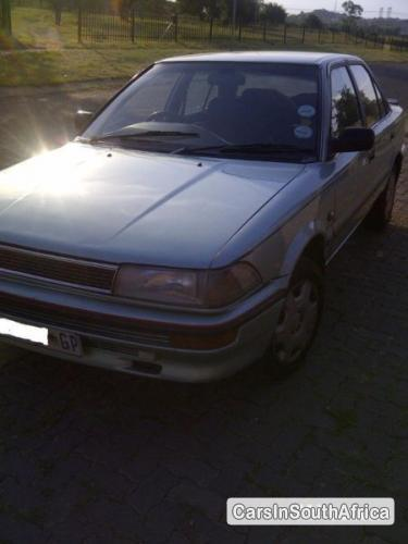 Picture of Toyota Corolla Manual 1989