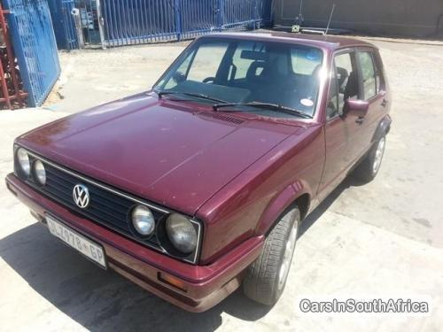 Picture of Volkswagen Golf Manual 1999