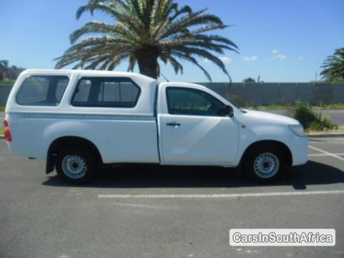 Picture of Toyota Hilux Manual 2011