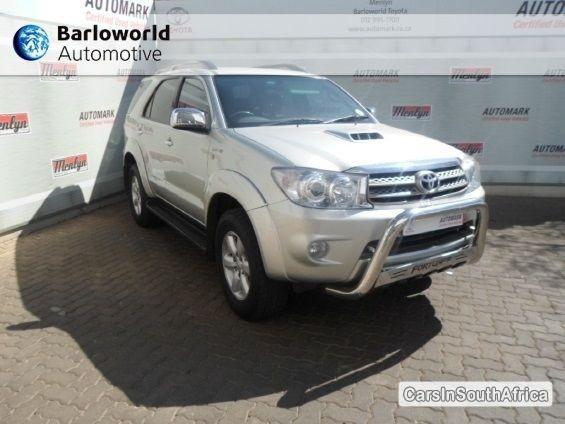 Picture of Toyota Fortuner Manual 2011