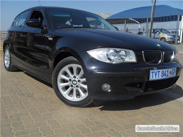 Picture of BMW 1-Series Manual 2006