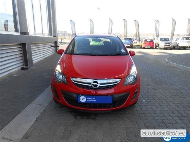 Picture of Opel Corsa Manual 2014