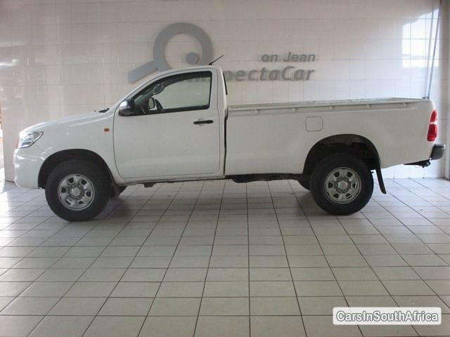 Picture of Toyota Hilux Manual 2012