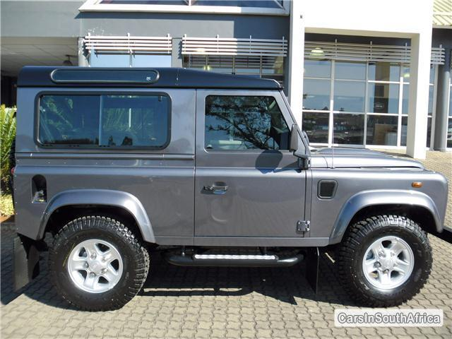 Picture of Land Rover Defender Manual 2015
