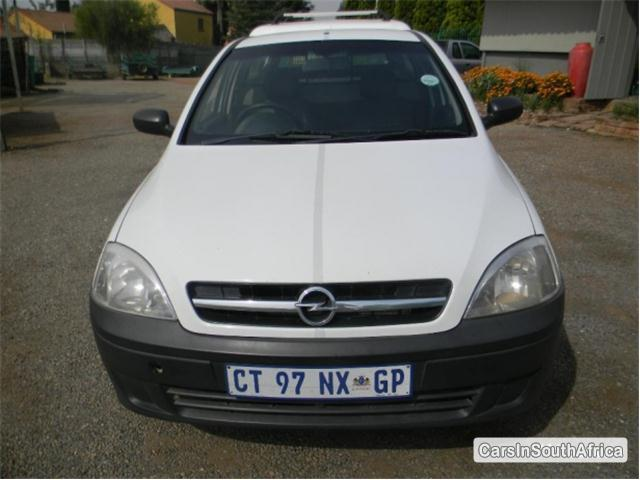 Picture of Opel Corsa Utility Manual 2009