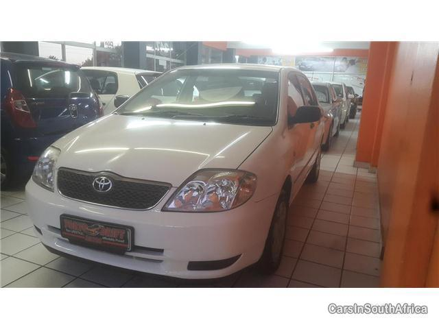 Pictures of Toyota Corolla Manual 2003