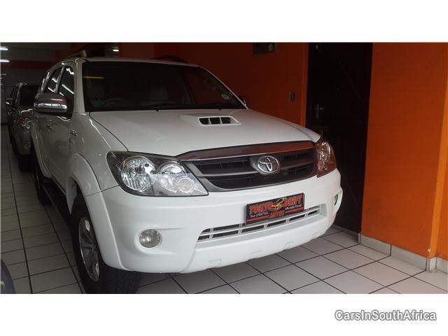 Toyota Fortuner Manual 2007