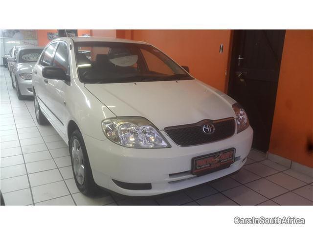 Toyota Corolla Manual 2003